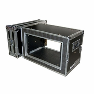 DJK (DJK-6UEDS) 6 Space Shallow Shock Mount Rack Case