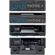 Dual (XML8110) In-Dash AM/FM/Bluetooth Ready Docking Station for iPod