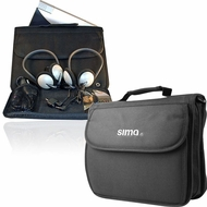 DVD Player Bundle Set - Two Headphones and Case