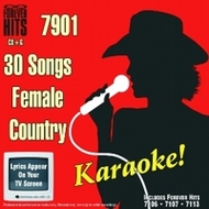 Forever Hits (7901) 30 Song Pack Female Country (3 Discs)