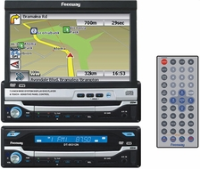 "Freeway (DT-05312N) Navigation Multimedia Receiver with 7.0"" Touchscreen Display and Remote Control"