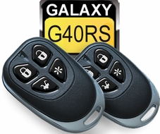 Galaxy (G40RS) Remote Start System with Keyless Entry and 4 Buttons