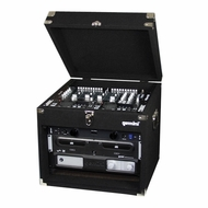 Gemini (MRC-6) Professional DJ Case with Black carpeting