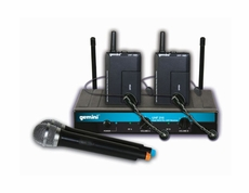 Gemini (UHF-216HL) 16 Channel Wireless UHF System with 250' range