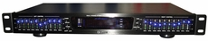 GLI Pro (GQ-1000) Dual 10 Band Digital Audio Stereo Equalizer, Black