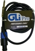 "GLI Pro (JTS-12) 12 Foot 1/4"" to Speakon Cable"