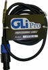 "GLI Pro (JTS-3) 3 Foot 1/4"" to Speakon Cable"