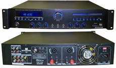 GLI Pro (Pro-7700) 5000 Watts Stereo Power Amplifier with DVD (800W Per Channel at 8 Ohms)