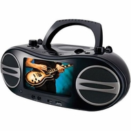 GPX (BD707B) Portable DVD Boombox Stereo System