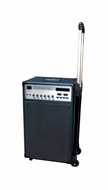 Hisonic (MVP2005) Portable 70 Watt PA System Rechargeable with Wireless Microphones