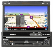 "Jensen (VM9414) 7"" Touch Screen Motorized, Made for iPod. Bluetooth & SAT Ready. SD Reader, USB, AUX In"