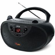 jWIN (JX-CD427) Portable CD Boombox with AM/FM Radio