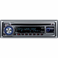 Kenwood (KMR-330) In-dash Marine CD Receiver with Front Aux Input