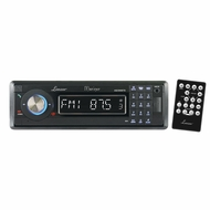 Lanzar (AQCD60BTB) AM/FM-MPX In-Dash Marine Detachable Face Radio CD/SD/MMC/USB Player & Bluetooth Wireless Technology