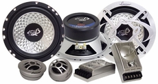Lanzar (HR6.1) Heritage 6.5'' Two-Way Custom Component Speaker System