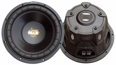 Lanzar (MAXP64) Max Pro 6.5'' 600 Watt Small Enclosure 4 Ohm Subwoofer