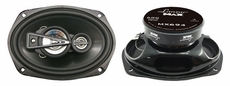 Lanzar (MX694) 6'' x 9'' 680 Watts 4 Way Coaxial Speaker