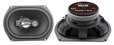 Lanzar (MX8124) 8''x 12'' 1000 Watts 4-Way Coaxial Speaker
