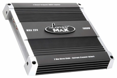 Lanzar (MXA224) 1000 Watt 2 Channel Bridgeable MOSFET Amplifier
