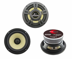 Lanzar (OPTI6PM) Opti Pro 400 Watts 6.5'' High Power Coaxial Speakers