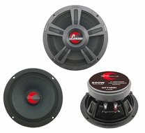 Lanzar (OPTI8MI) Opti Pro 800 Watts 8'' High Power Midbass Speakers
