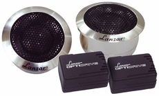 Lanzar (OPTITW) Optidrive 1'' Titanium Dome Tweeter w/Aluminum Housings