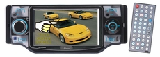 Lanzar (SD45MU) 4.5'' TFT Touch Screen Monitor with DVD/VCD/USB/MP3/CD Player & AM/FM/RDS Radio