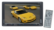 Lanzar (SDN70U) 7'' Double Din TFT Touch Screen DVD/VCD/CD/MP3/MP4/CD-R/USB/SD-MMC Card Slot /AM/FM