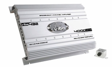 Lanzar (VIBE432) Vibe 4000 Watt 4 Channel Mosfet Amplifier