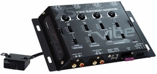 Lanzar (VIBEX5) Vibe 3 Way Electronic Crossover Network w/Remote Subwoofer Control