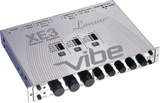 Lanzar (VIBEXE3) Vibe Half DIN In-Dash 3 Way Electronic Crossover/5 Band Equalizer