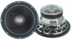 "Lanzar (VW104) Vibe 10"" 1200 Watt 4 Ohm Chrome Subwoofer"