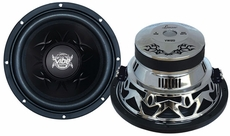 Lanzar (VW12D) Vibe 12'' 1600 Watt Dual 4 Ohm Chrome Subwoofer