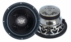 Lanzar (VW15D) Vibe 15'' 2000 Watt Dual 4 Ohm Chrome Subwoofer
