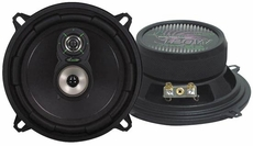 Lanzar (VX530) VX 5.25'' Three-Way Speakers