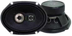 Lanzar (VX683) VX 6''x 8'' Three-Way Speakers