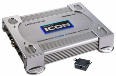 Legacy (LA3000DSL) 3000 Watt Mono-Block Class-D Amplifier (Silver)