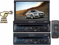 Legacy (LDN7U) 7'' Motorized Touch Screen TFT/LCD Monitor With DVD/CD/MP3/AM/FM Player