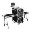 Marathon (MA-11M16UCT2LT) Combo Case With Table On Both Sides and Laptop Shelf