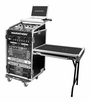 Marathon (MA-11M16UCTLT) Combo Case With Caster Board Table and Laptop Shelf
