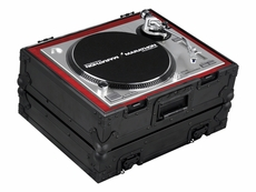 Marathon (MA-1200V2BLK) Heavy Duty Turntable Deluxe Case with Full Removable Cover