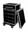 Marathon (MA-14UADW) 14U Amplifier Deluxe Case with Wheels