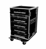 Marathon (MA-16UAD21W) 16u Amplifier Deluxe Case with Wheels