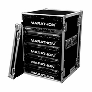 "Marathon (MA-18UAD) 18U Amplifier Deluxe Case - 18"" Body Depth"