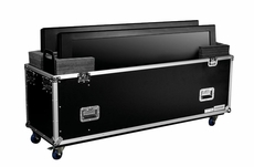 Marathon (MA-2PLASMA50W) Universal Case with Casters for Two Plasma 50 inch Monitors