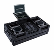 Marathon (MA-CDI10WLTBLK) Black Series Coffin Holds Medium Format CD Players