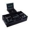 Marathon (MA-CDI12WLTBLK) Black Series Coffin holds A 2 x Medium Format CD Players