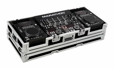"""Marathon (MA-CDI19W) Case for 2 x American Audio CDI Players+ 19"""" Mixers with Wheels"""