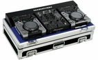 "Marathon (MA-CDJ10V2) Coffin Holds 2 x Small Format CD Players Plus 10"" Mixer"