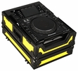Marathon (MA-CDJ2000BLKYLW) Yellow-Black Series - Case for Pioneer CDJ2000 and All Other Large format CD / Digital Turntables